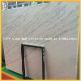 Lastre di marmo bianche Polished superiori di Guangxi più poco costose del materiale da costruzione, marmo di bianco della Cina