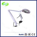 Faltende Vergrößerungsvergrößerungsglas-Lampe der schreibtisch-Tisch-Lampen-5X