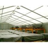 De handel toont de Tent van het Glas van de Reclame voor Boot