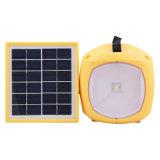 Il LED ricaricabile giallo illumina la lanterna di campeggio solare per gioco esterno