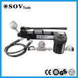 Combine o êmbolo oco do macaco hidráulico de ação simples (SV18Y)