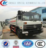 Dongfeng 4X2, acier inoxydable 15000 litres d'huile Chariot de distribution de carburant