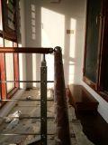 ステンレス鋼の摩耗4の管の純木のペダルのステアケース