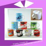 Tazza mezza di ceramica con il marchio che marca a caldo per la promozione Cm017-001