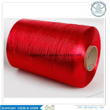 Alto filato bianco grezzo 450d/1 del filamento del rayon viscoso di tenacia & di qualità di 100%