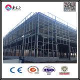Taller de acero de dos pisos/Warehosue de Structre de la prueba de fuego/vertido