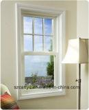 Aluminiumlegierung-einzelnes gehangenes Fenster/Aluminiumlieferant windows-China
