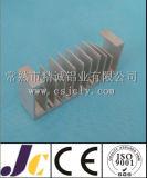 Perfil de aluminio de la protuberancia del disipador de calor con trabajar a máquina del CNC (JC-P-80039)