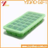 Formato de espinha de peixe de moldes em borracha de silicone de Molde de chocolate da bandeja de cubos de gelo (YB-HD-38)