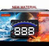 M6 visualizzazione alta OBD2 della testa di Hud dell'automobile da 3.5 pollici inseriscono le azione
