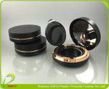 Elegant mit freies Fenster-Schwarz-dem ovalen kosmetischen kompakten Puder-Verpacken