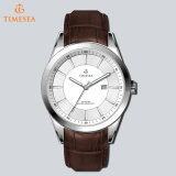 Brand Fashion Leather Trap Watch Mens Moda relógio casual 72234