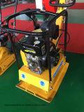 Costipatore a terra STP125 del piatto del terreno della benzina rovesciabile
