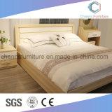 Мода двуспальная кровать дизайн современной мебели деревянные кровати с двумя спальнями (CAS-BF1706)