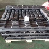 Garnitures en caoutchouc noires 800HD de Puyi pour des excavatrices