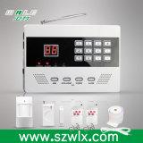 Preço de fábrica! 99 Zonas sem fio PSTN Home Alarm System