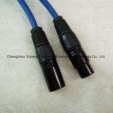 3 broches mâle à femelle XLR Câble haut-parleur / microphone / équipement sonore