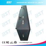 곡선 디자인을%s 가진 전시 화면 Boad를 광고하는 중국 공장 공급 P10mm 옥외 LED