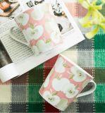 Tasse de café blanche en céramique en bloc de porcelaine aucune commande minimum