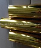 Feuille d'or pour la décoration d'aluminium d'estampage à chaud