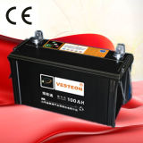 Bateria de carro de N100 12V100ah para o carro e o caminhão