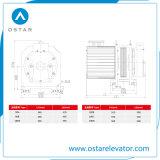 2: 1, 1:1 Gearless Zugkraft-Maschine für kleines Laden-Passagier-Höhenruder (Serien OS113-260)