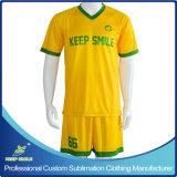 Custom Sublimation Digital Quicky Dry Confortável Fatos de futebol da equipe