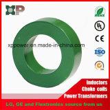 Transformador toroidal de acero al silicio núcleo de hierro con bajas pérdidas de hierro.