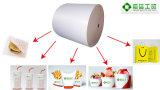 papier enduit du PE 40+15GSM pour l'hamburger s'enveloppant, sandwich/papier d'emballage de pépite