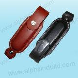 標準的な革USBのフラッシュ駆動機構(ALP-027U)