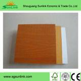 Tamaño del papel laminado MDF 1220X2440X3-18m m de la melamina para los muebles
