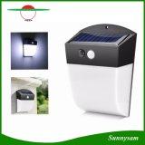 24 Bewegungs-Fühler-Yard-Wand-Licht-im Freiengarten-Zaun-Solarlampe LED-wasserdichte angeschaltene PIR