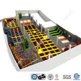 Da configuração de uma paragem da solução da fábrica de China lugar interno do Trampoline