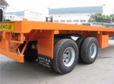 40feets semi-remolque plano 2axles (neumáticos dobles) manufacturado en China