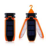 Wasserdichte LED helle Laterne der beweglichen zusammenklappbaren LEDhellen USB-&Solar nachladbaren Laterne-für das Reisen/Kampieren/wandernd