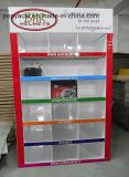 Eco - banchi di mostra Single-Sided amichevoli di vendita al dettaglio del pallet del cartone per la lucentezza dei caschi laminata