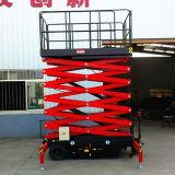 10m Mobile elevador de tesoura para trabalho de antena (15 ano de experiência)