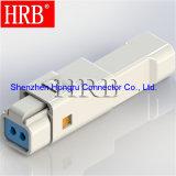 Imperméable IP67 Fil à fil 2 broches du connecteur de l'automobile