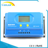 De rS232-Software van MPPT 50A 12V/24V + 2USB-5V/3A ZonneControlemechanisme ys-50A
