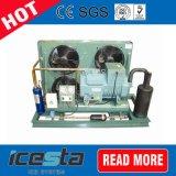 冷却ユニットボックスタイプBitzerの圧縮機の空気によって冷却される凝縮の単位