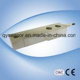 Cellule de charge de faisceau de cisaillement en acier inoxydable pour échelle de pesage de lit