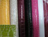 A bolsa do projeto do espelho Shinny o couro artificial do PVC