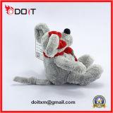 Urso vermelho do brinquedo do luxuoso do urso do brinquedo da peluche de Scarve