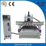 Router Process do CNC do Woodworking quatro de Auomatic 1325