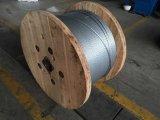 7/3.05mm, 7/3.45mm, 7/4.0mm, 19/1.8mm, 19/2.3mm. Angeschwemmter galvanisierter Stahldraht (GSW)