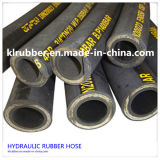 Hochfester Stahl-Draht-Flechten-Gummiöl-hydraulischer Schlauch