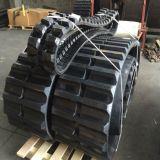 Trilha de borracha (650X125) para o tipo grande uso da maquinaria de construção