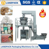 Máquina de embalagem de enchimento do malote quantitativo do açúcar do arroz do baixo custo