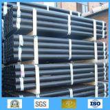 Tubo de aço sem costura laminado a quente ASTM A106 Gr-B Sch40 Tubo de aço carbono transparente