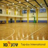 身に着け抵抗PVCバスケットボールのスポーツのフロアーリング